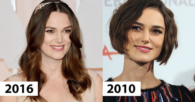 Keira Knightley Has Been Secretly Wearing Wigs for Years