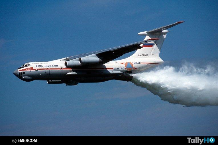 Resultado de imagem para il-76 incendio chile