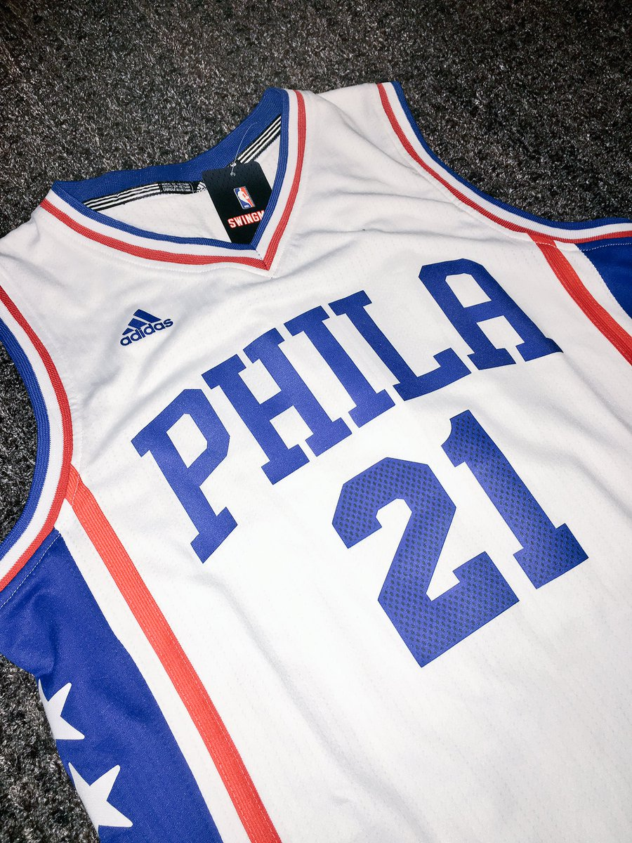 EMBIID JERSEY GIVEAWAY ⚠ RETWEET for a chance to win (must be following) Winner  will be chosen at halftime of Sixers-Pistons on Feb 6th.pic.twitter.com  ... 20898e14f