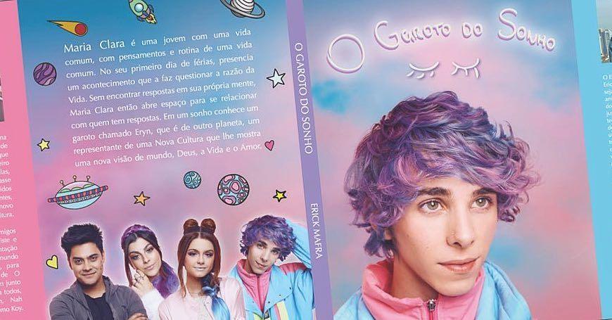 GALERAAAAA!!!! O livro de @ogarotodosonho saiu!!!!!! Ele já está em pré-venda na @saraivao… https://t.co/ODOjKndsea https://t.co/R1zKRtg7EG