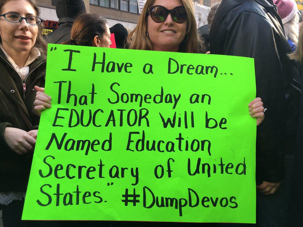 We Must Strengthen Americas Educational >> Bernie Sanders On Twitter I Will Be Voting Against Betsy Devos For