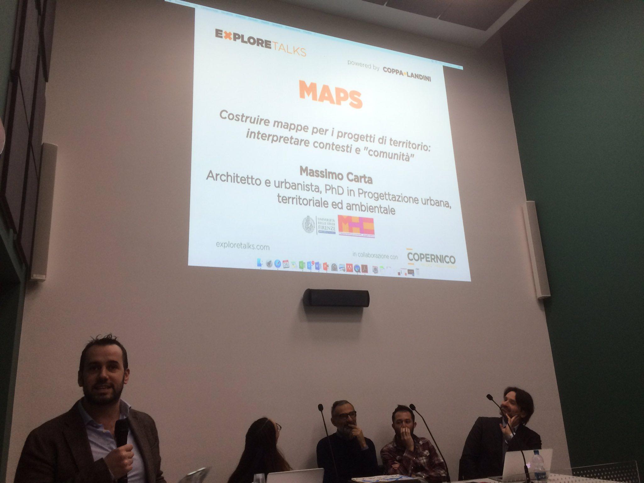 Questa sera a #XTmaps di @CoppaLandini si..esplorano i tipi di mappe #mappiamo le #mappe in @CopernicoMilano https://t.co/dUfQbaiCwQ