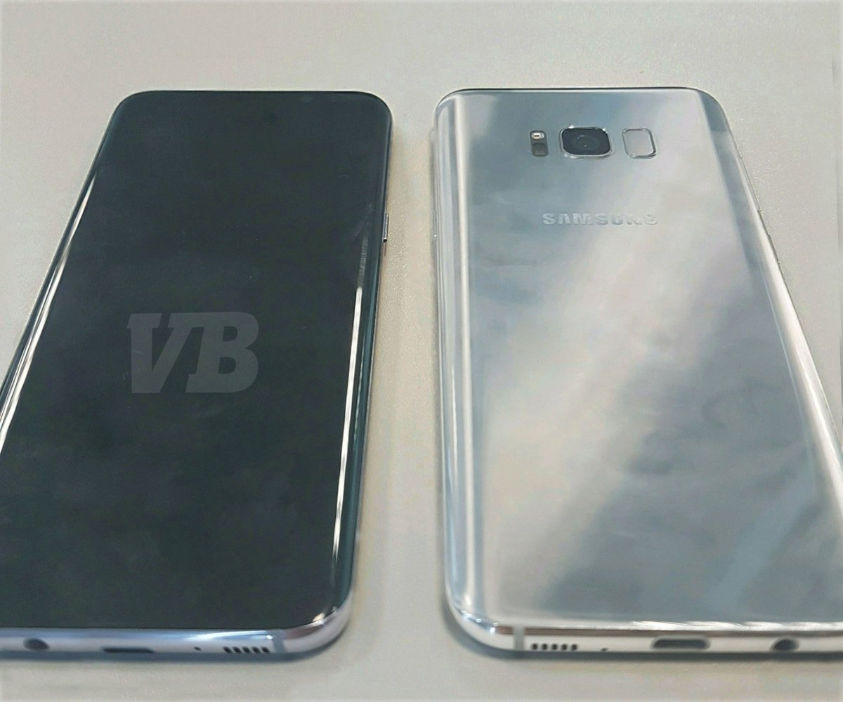 This is the first image of the Samsung Galaxy S8