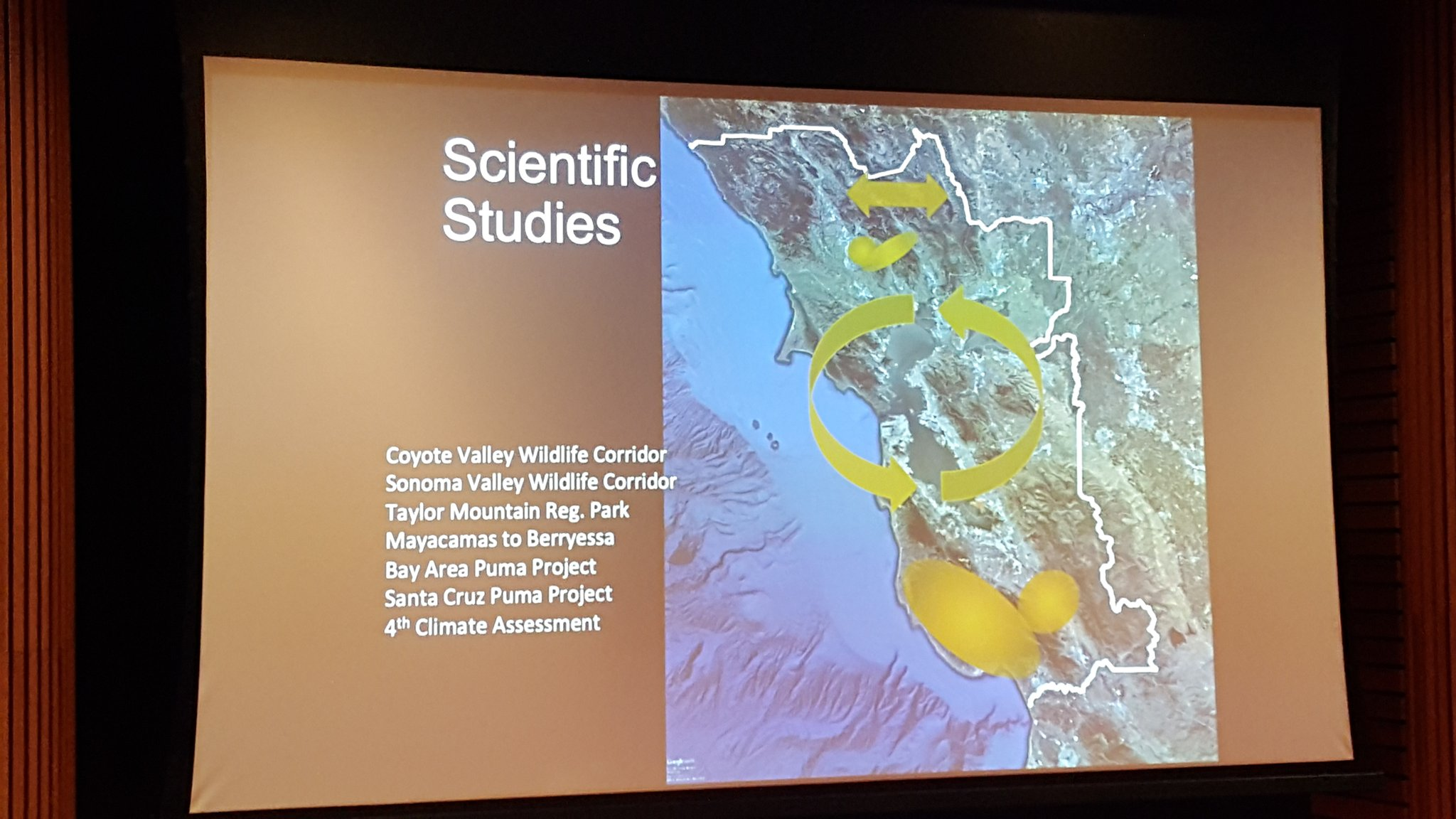 Lots of amazing #science going into the Bay Area's wildlife corridors! @BA_OPENSPACE #OSCWildlife https://t.co/wHjSPAhm0Y
