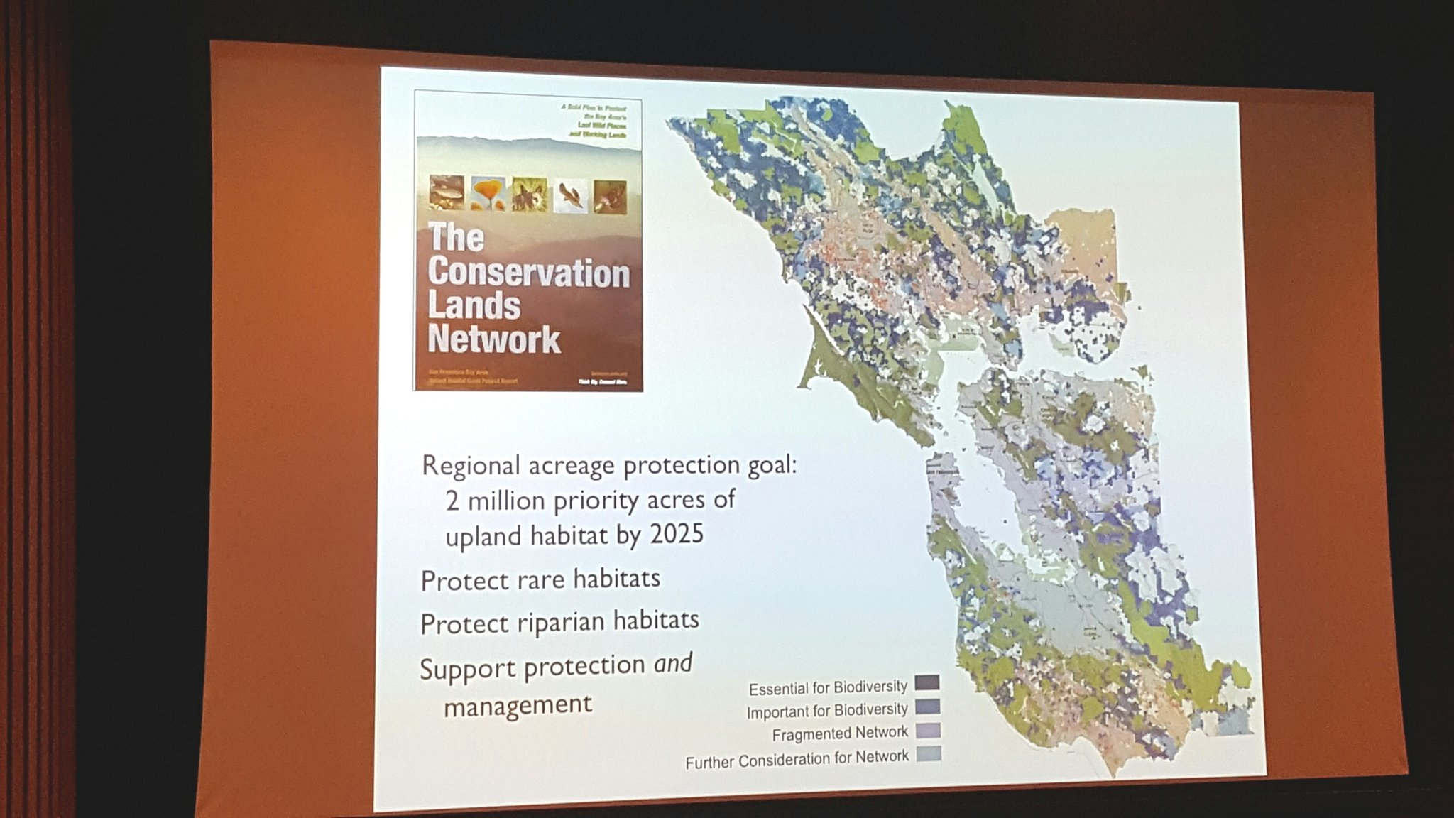 Goal of protecting 2 million priority acres in the Bay Area by 2025! Way to aim high for #conservation! #OSCWildlife https://t.co/ksvCxwFXOp