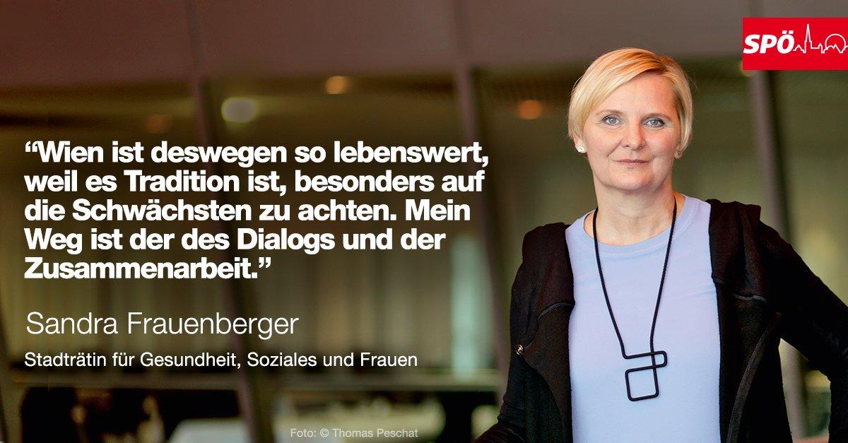 Herzliche Gratulation an Sandra #Frauenberger und alles Gute für ihre...