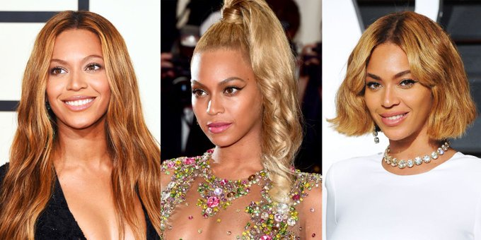 The Complete Evolution of Beyoncé's Hair