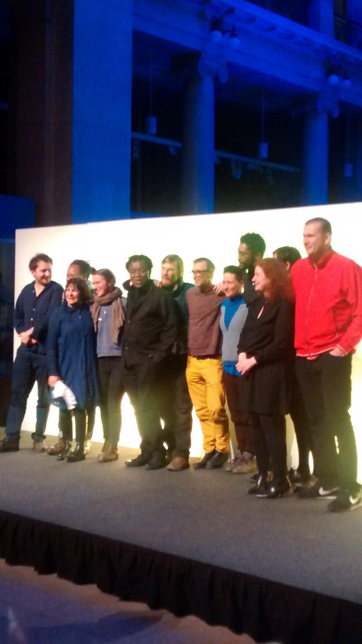Huge congratulations to John Akomfrah winner of @ArtesMundi  and Bedwyr Williams winner of Derek Williams Purchase award. https://t.co/q8ssVBva4f