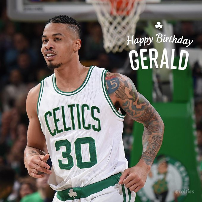 Happy Birthday, Gerald Green!
