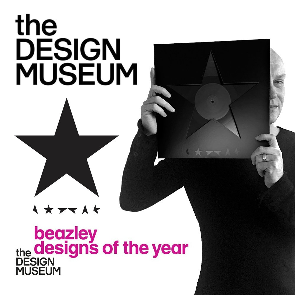 Beazley Designs of the Year has Barnbrook's Blackstar design as winner of the Graphics category. https://t.co/quWxwrHR5f  #DesignsoftheYear https://t.co/p4btAPULeH
