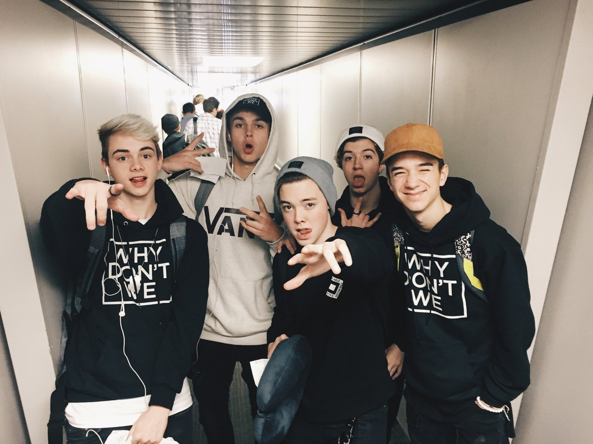 RT @whydontwemusic: It's all happening #TakingYouTour https://t.co/iMlCl06Y0m