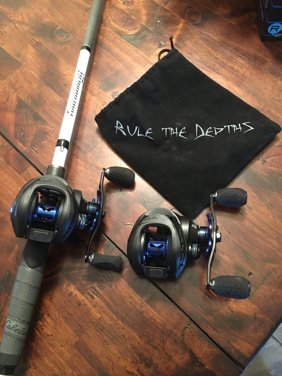 Colton johnson okiefishing0737 twitter for Sixgill fishing reels