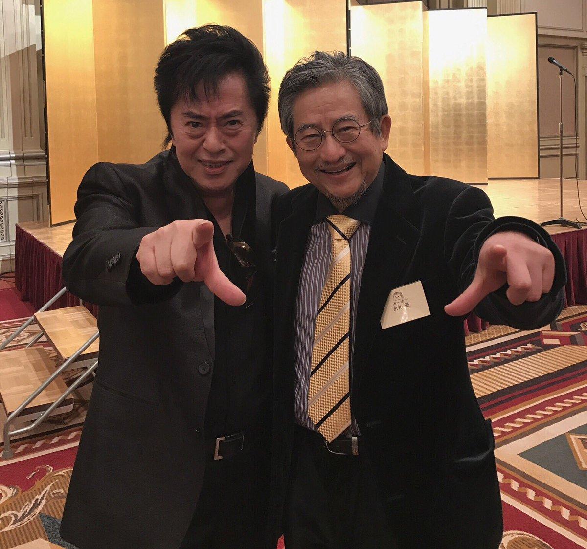 今年50周年を迎えられる永井豪先生との2ショットだゼーット! いつお会いしても若いZ!