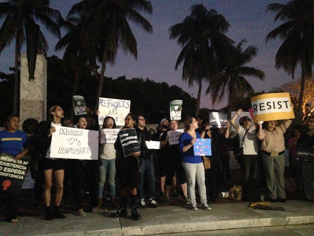 We will resist. #ImmigrantsWelcome #SanctuaryEverywhere https://t.co/iVKIZ97C2E