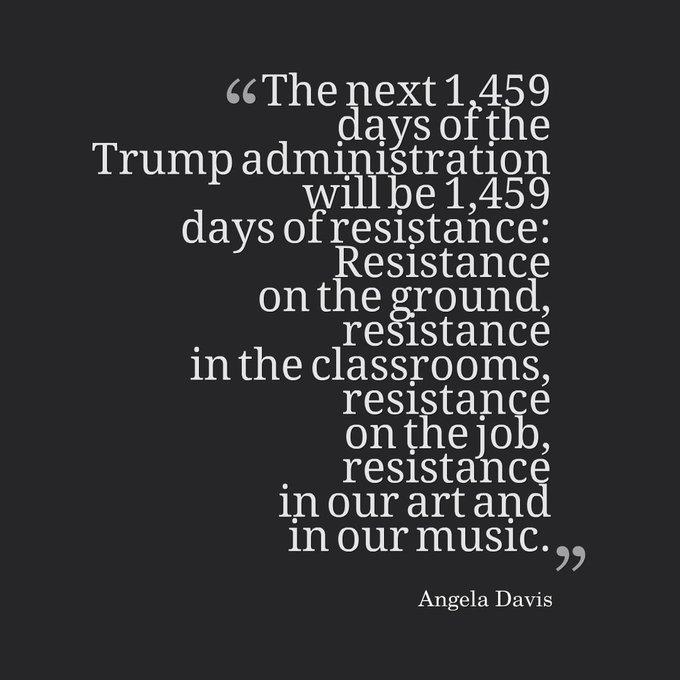 Happy Birthday to revolutionary, activist, educator Angela Davis!