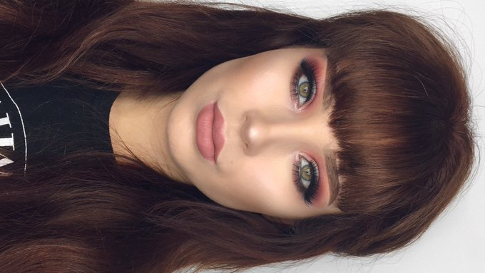 Smokey Cranberry & Blue eyeliner makeup tutorial