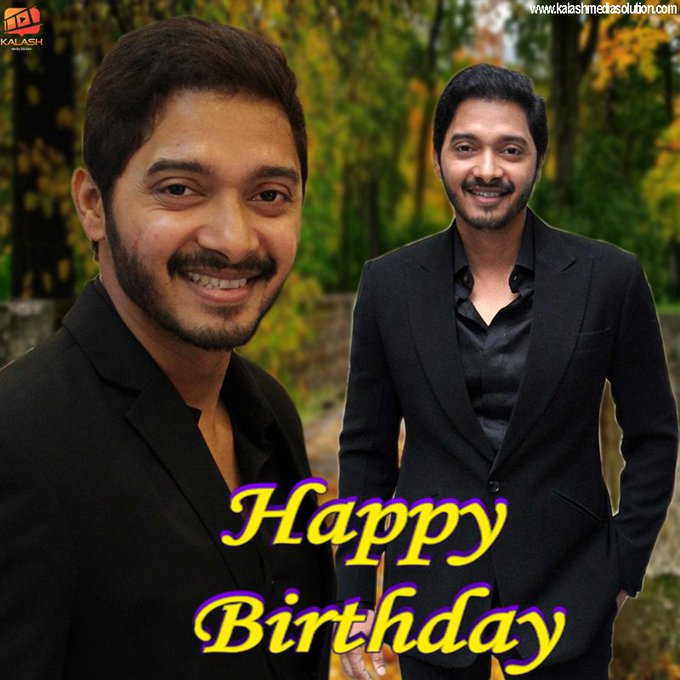 "Happy Birthday  ""Shreyas Talpade\"""