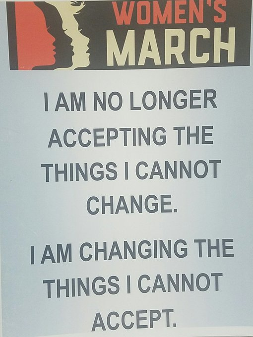 So much respect for Angela Davis! I quoted her on my Women\s March sign. Happy birthday!