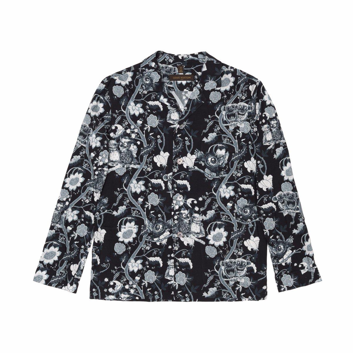 ルイ・ヴィトンのドーバー銀座限定パジャマシャツ&パンツ、ヒマラヤの動物たちを擬人化 fashion-…