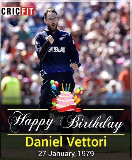 Cricfit Wishes Daniel Vettori a Very Happy Birthday!