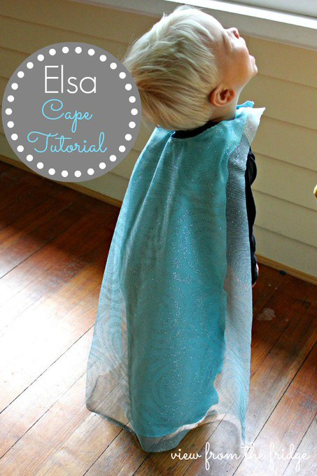 Elsa Cape Tutorial