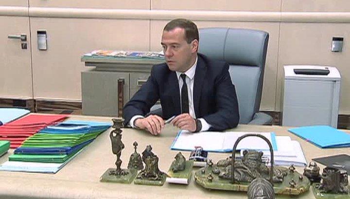 """""""Всем большой арктический привет. Ставьте себе будильник в разные места"""", - Медведев на заседании правительства РФ - Цензор.НЕТ 1616"""