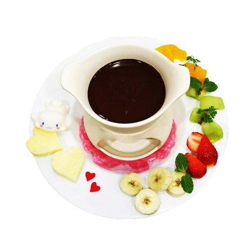 シナモロール カフェのバレンタイン - 京都・河原町オーパで味わう「恋するモカのショートケーキ」他 …