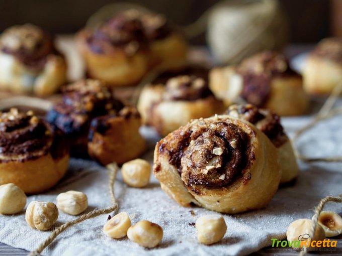 Girelle alla Nutella Facili e Veloci