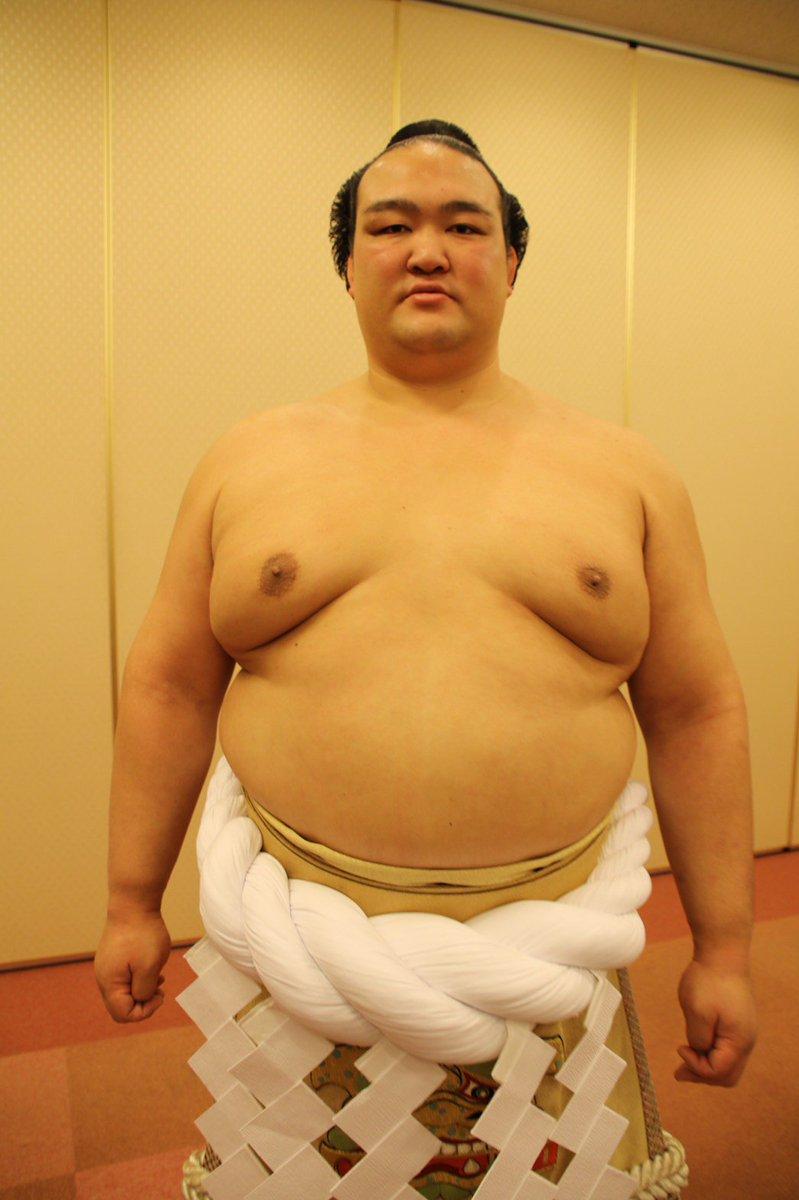 <奉納土俵入り>奉納土俵入りを終えた、新横綱 稀勢の里。 #sumo