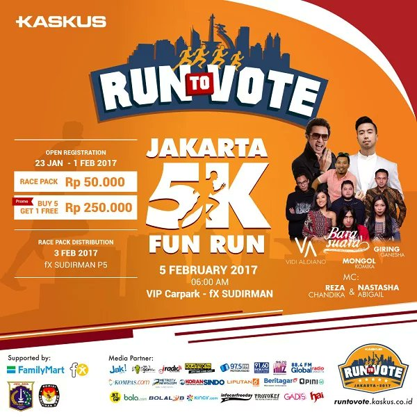 Run To Vote • 2017