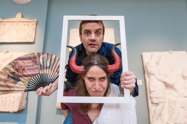 #FF @AshmoleanMuseum @ashmoleanevents: big night ahead tonight!   Come find us in the Cast Gallery, doing #Ovid an injustice. #LiveFriday https://t.co/AdlNJLo9va