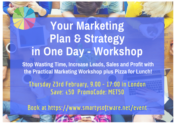 Marketing Plan Workshop - Get Your Marketing Plan Ready in One Day