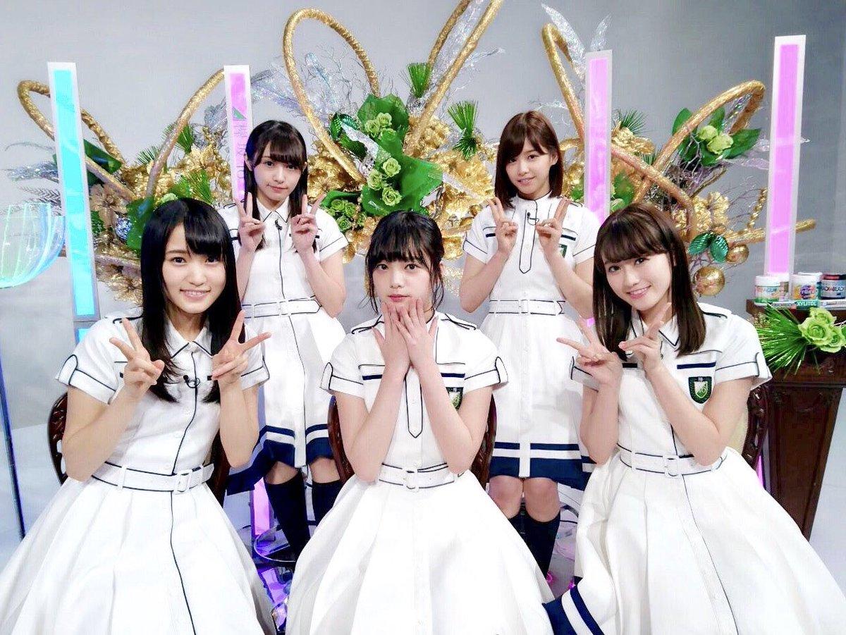 この後19:00~AbemaTV・SHOWROOMにて「HKT48 VS 欅坂46つぶやきCMグラン…