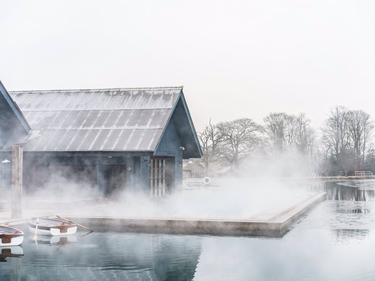 Image result for soho farmhouse winter