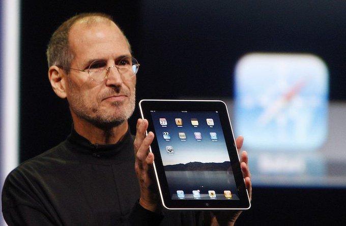 "HAPPY BIRTHDAY iPad!      7   \""Seven Years Ago Today: Steve Jobs Introduces the iPad\"""