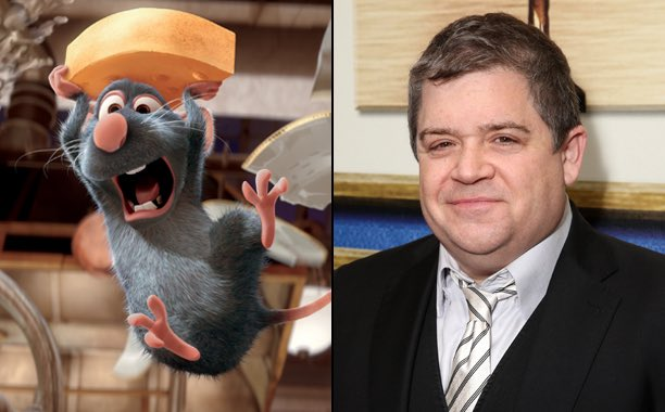 Happy birthday to Patton Oswalt, the voice of Remy!