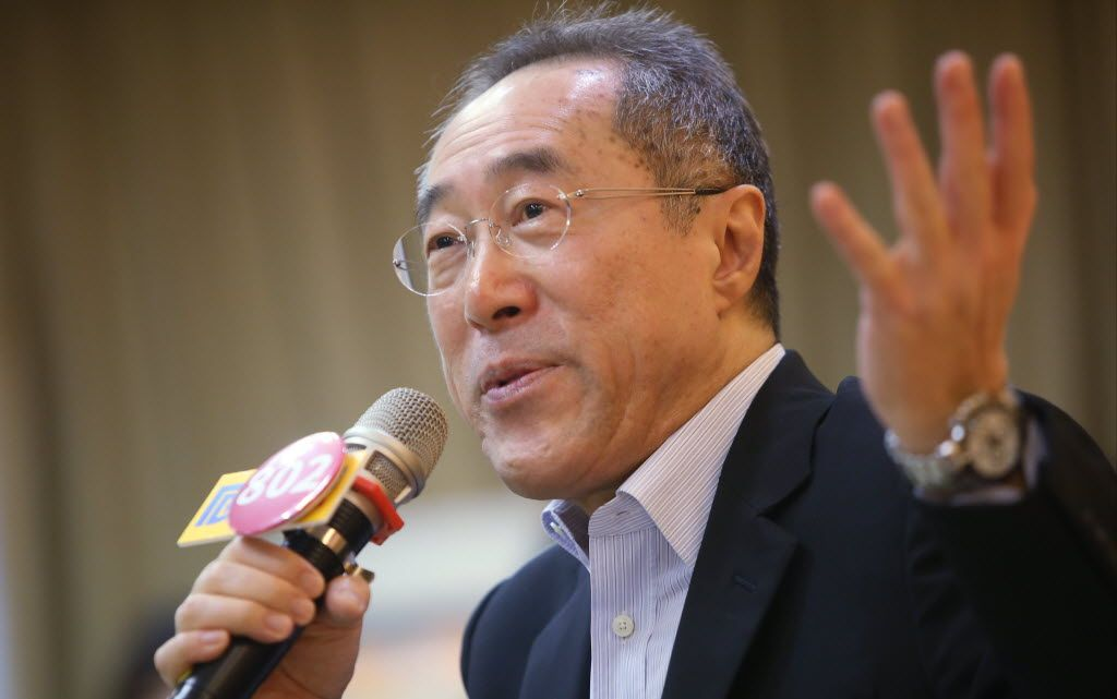 Henry Tang says 'nobody's perfect' as he assesses HK chief executive contenders