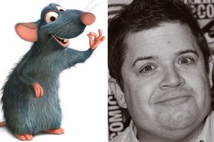 Happy 48th Birthday to Patton Oswalt! The voice of Remy in Ratatouille.