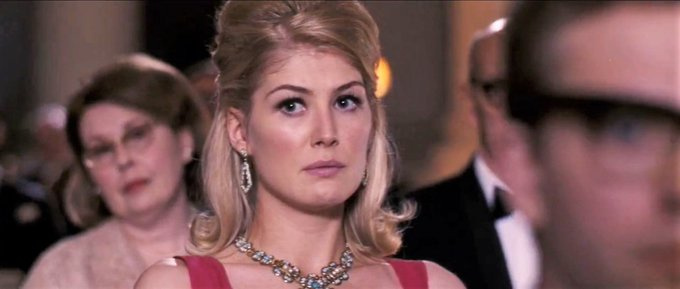 "Happy Birthday to British actress Rosamund Pike! First saw her in ""An Education\"" (2009)"