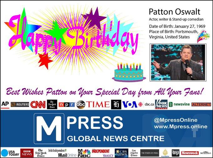 Happy Birthday Patton Oswalt Mpress Global News Centre