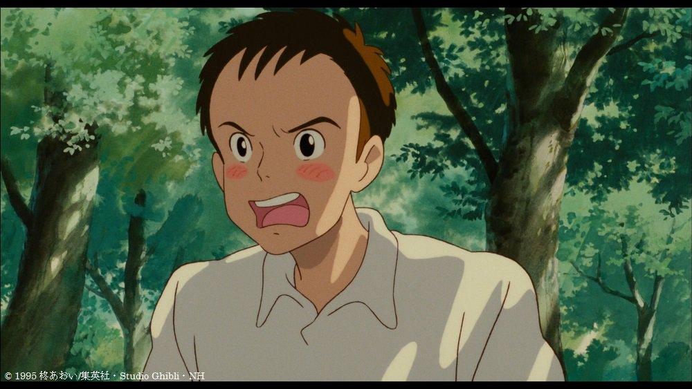 杉村くん、いい男ですね~。将来、モテモテだろうなあ。#kinro #耳をすませば