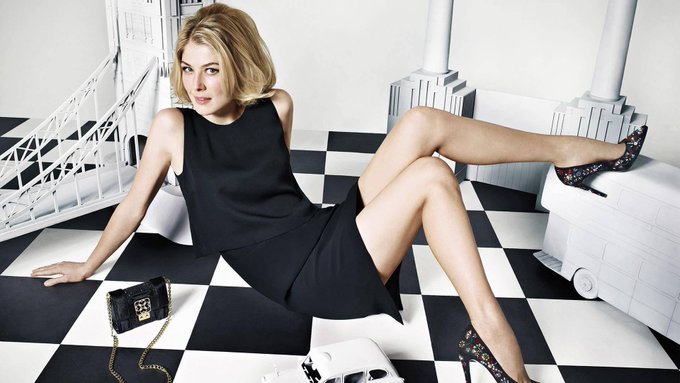Happy Birthday. Today, Jan 27, 1979 Rosamund Pike, English actress was born.   (