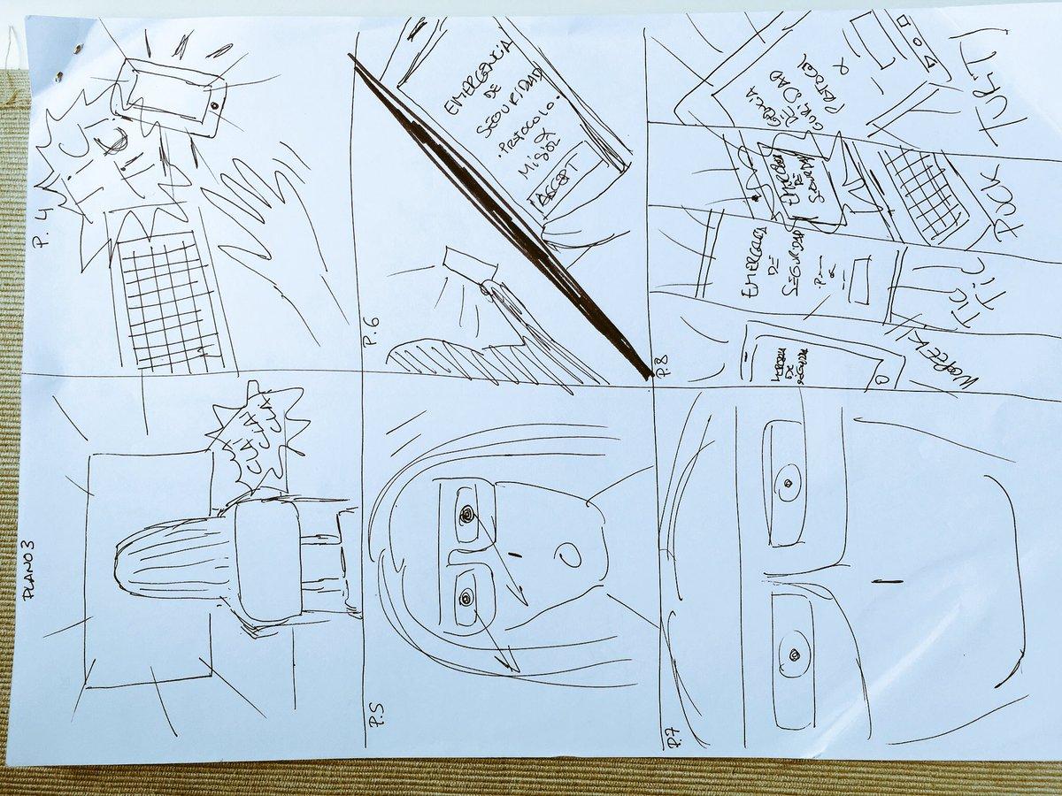 Sigo siendo el rey del storyboard. Sin duda. #garabatos #sintalentoparaeldibujo #monigotes #storyboard<br>http://pic.twitter.com/uL1VkDO6td