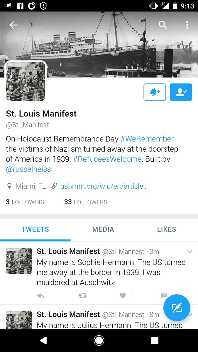 @Stl_Manifest Brilliant use of Twitter for advocacy and historical remembrance for #HolocaustMemorialDay https://t.co/HtVtgp2OuN
