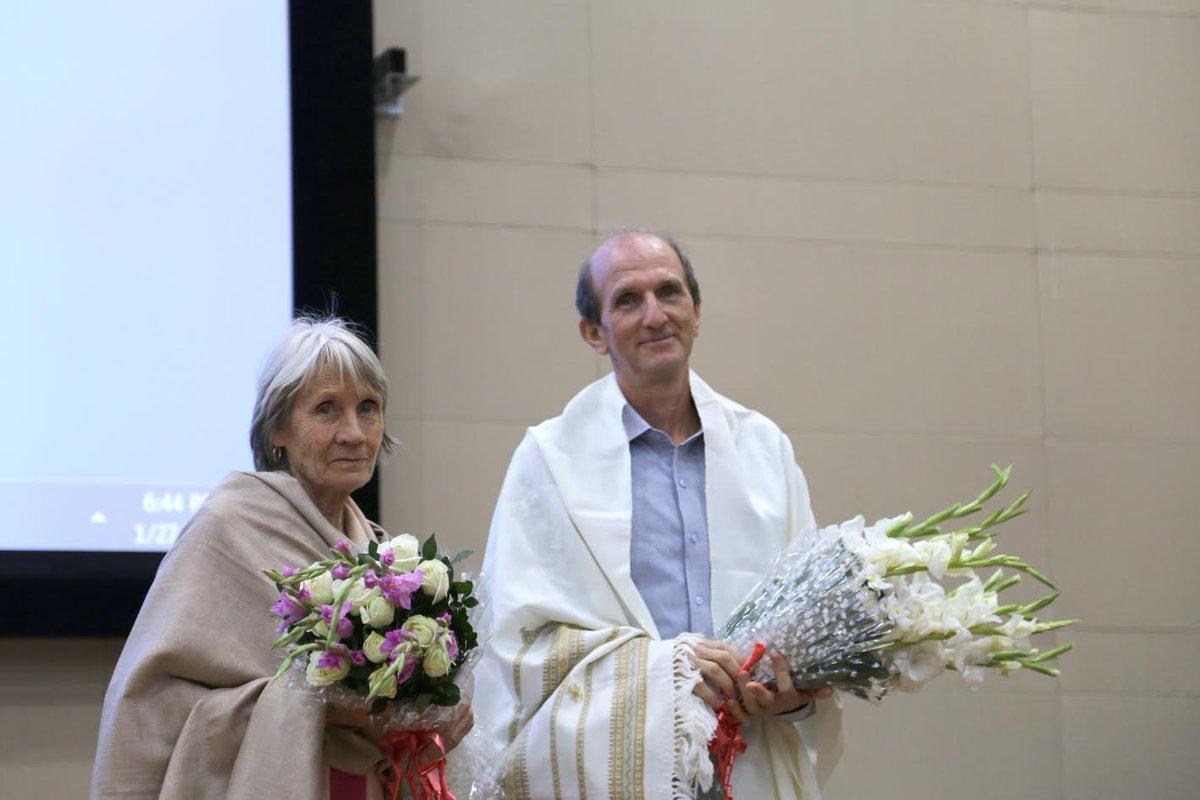 Padma Shri conferred to French-born Indian citizen IIT Gandhinagar Faculty