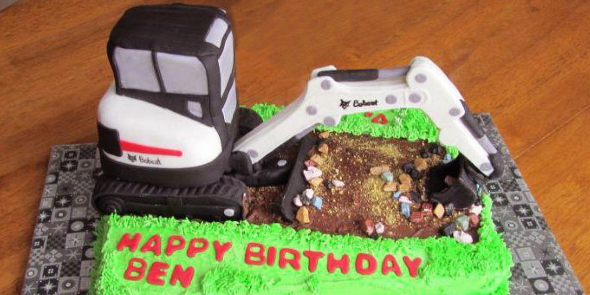 Bobcat Company on Twitter Were diggin this birthday cake from