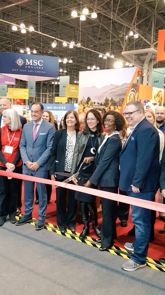 Welcome to the 14th Annual #NYTTravelShow! https://t.co/kDqh0a3t3K