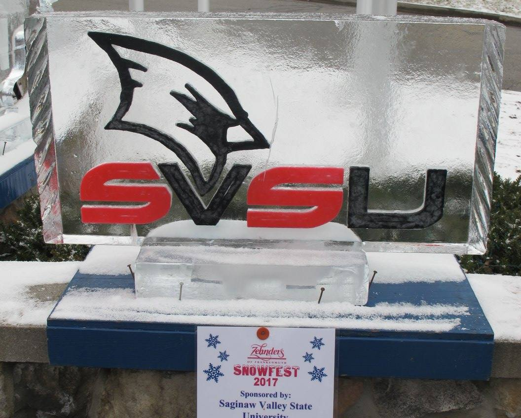 If visiting Zehnder's Snowest in @Frankenmuth, watch for SVSU ice carving on the Zehnder porch, snap a selfie and tag #WeCardinal #ZSnowfest https://t.co/NE6g2H4U4E