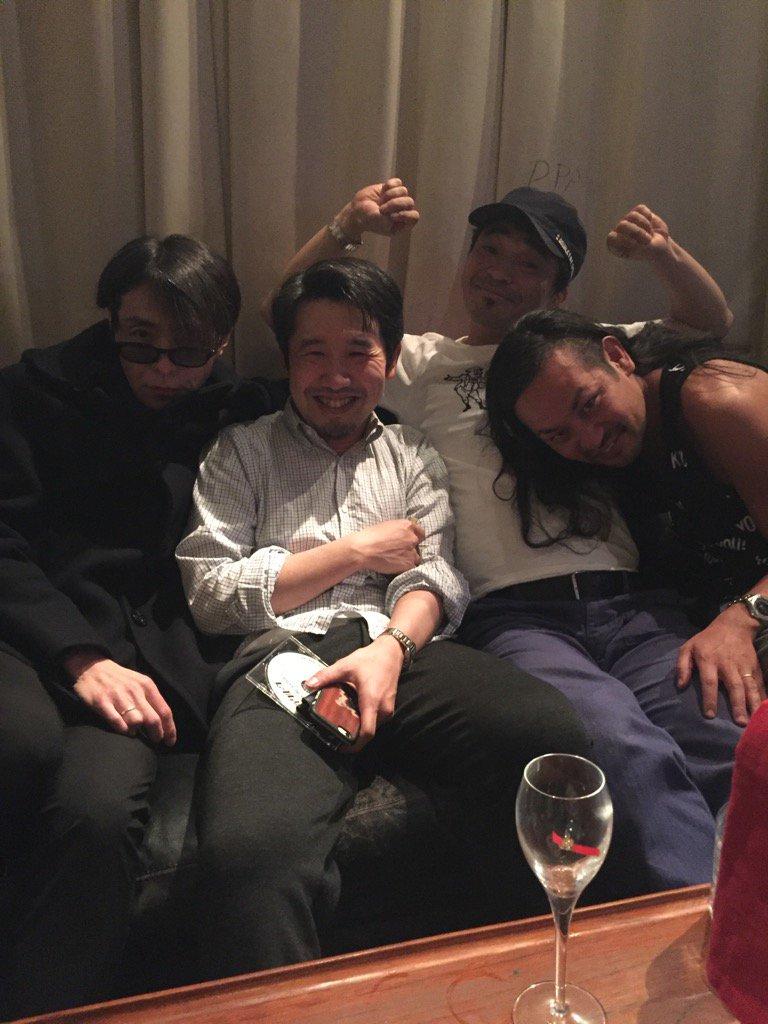 左からまりん、松鶴兄、卓球、島ンチュ