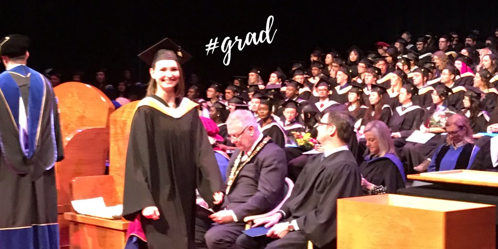 It's official! My amazing team member & right hand...no longer a student!She's going places! #viugrad2017 #getamped #🎓 https://t.co/hEMaXn8hc1